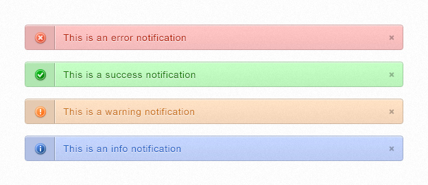 Clean & Simple Notifications